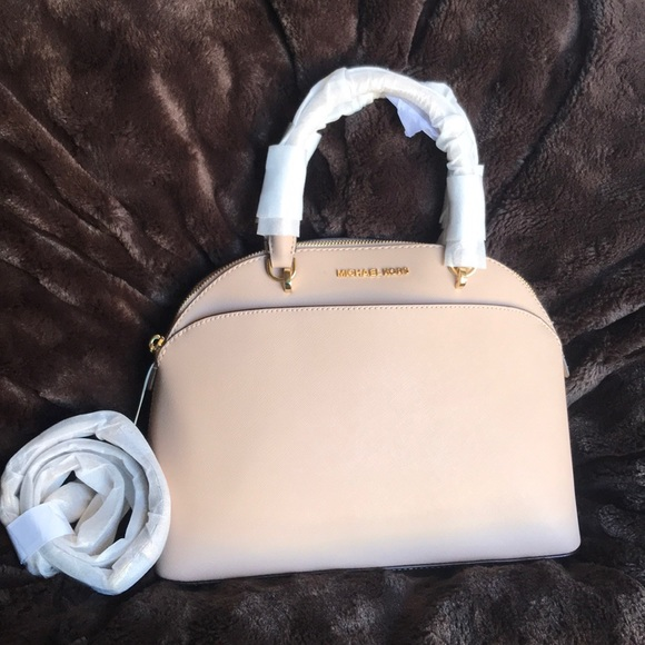 028aae933f1b84 MICHAEL Michael Kors Bags | Michael Kors Saffiano Leather Emmy Large ...